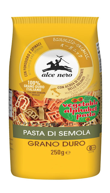 Pasta Organik Alce Nero Makanan Organik mesra kanak-kanak
