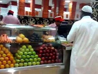 مشروع محل عصيرات طازجة