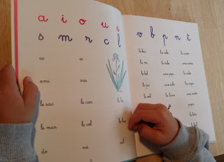 mon premier livre de lecture Montessori Nathan apprentissage maternelle test