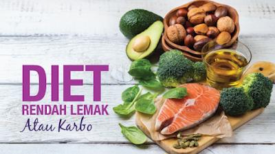 Perbandingan Diet Rendah Lemak dan Rendah Karbohidrat