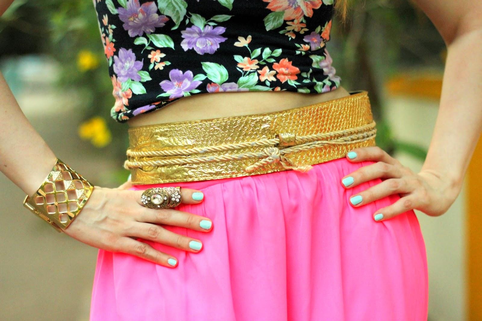 Gold Grecian Belt & Fashion Jewelry