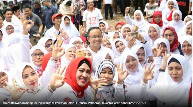 Curhat Ke Anies, Warga Palmerah Tidak Mau Gubernur KW AliasTiruan