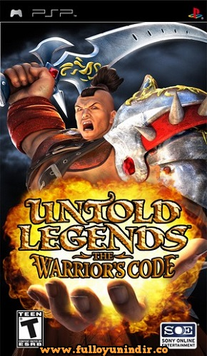Untold Legends The Warrior's Code Sony PSP