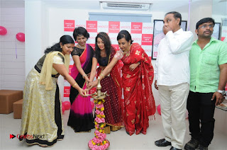 Telugu Actress Bhanu Sri Stills in Lehenga Choli at Anoo's Salon Launch at Ongole  0014.jpg