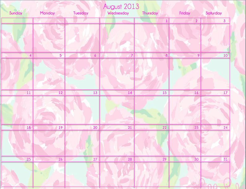 Lilly Pulitzer Calendar PrepEssentials