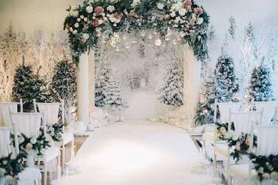 allestimenti floreali matrimonio invernale
