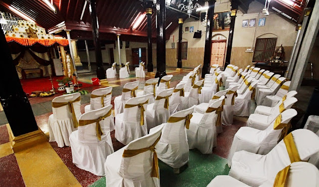 seating arrangement for wedding guests