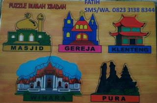 Mainan Puzzle Rumah Ibadah