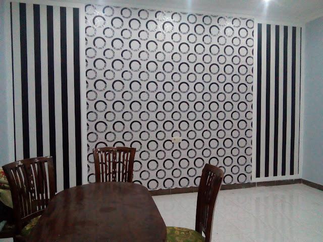 Desain Wallpaper Dinding Rumah Bernuansa Klasik dan Modern