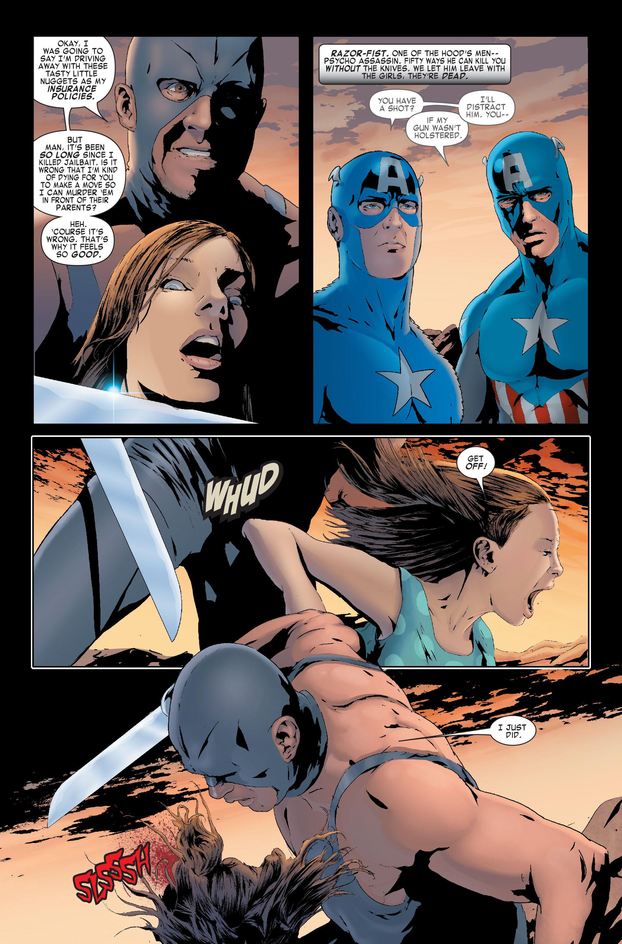 Read online Siege: Captain America comic -  Issue # Full - 14