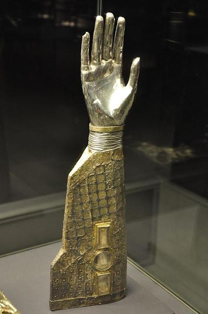 relikwiarz św. Wawrzyńca