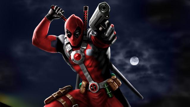 Deadpool Pistolet Artwork - Fond d'Écran en HD