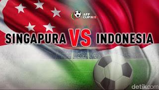 Susunan Pemain Singapura vs Indonesia - Piala AFF 2018
