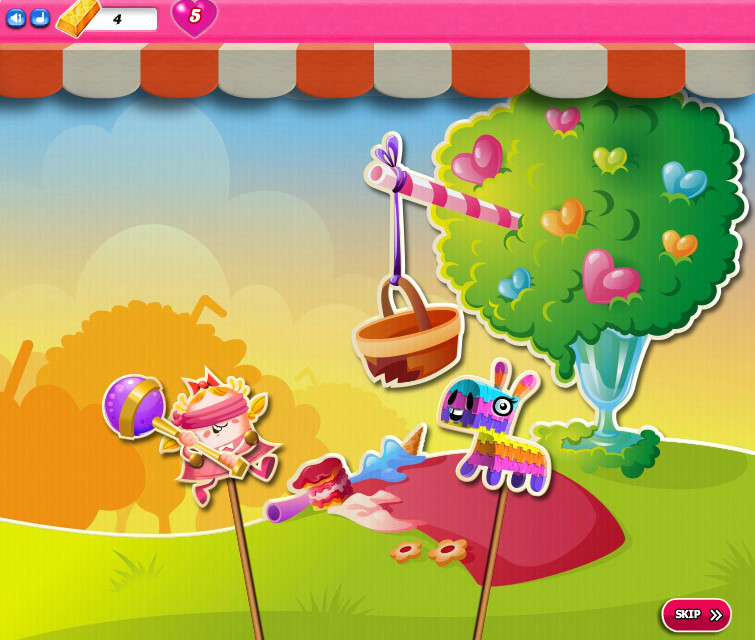 Candy Crush Saga level 2076-2090