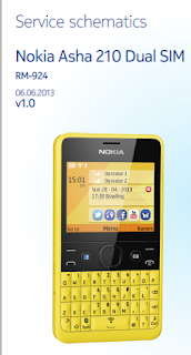 Download schematic diagram nokia 210 RM-924 komplit 1
