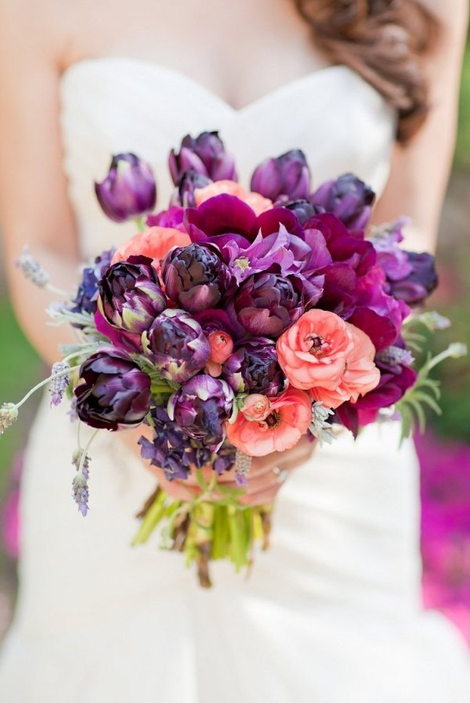 Orange Fall Peony Wallpaper 25 Stunning Wedding Bouquets Part 6 Belle The Magazine