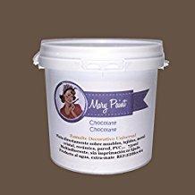 Mary Paint Peinture pour meubles effet peinture à la chaux, Rouge grenache750ml