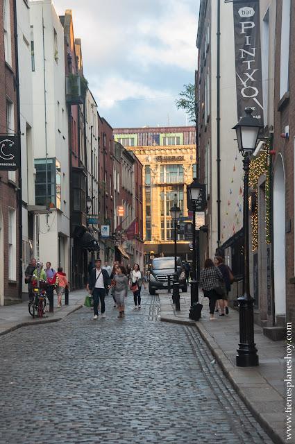Calles Temple Bar Dublin Irlanda