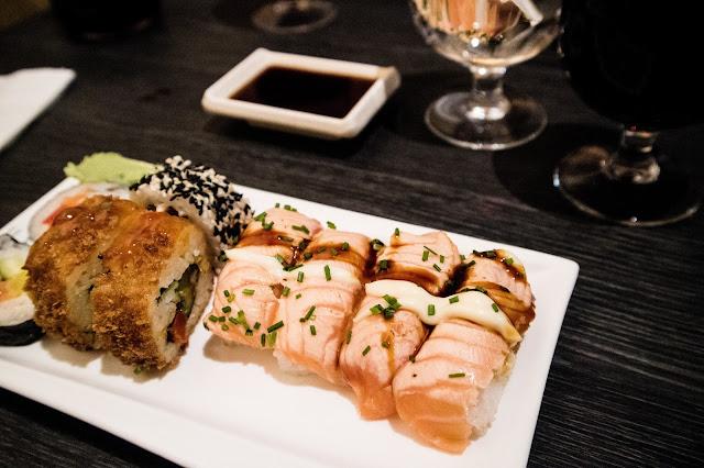sushi, lounas, Helsinki, uusi vuosi,