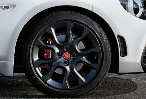 Fiat 124 Spider Abarth Brembo Brakes