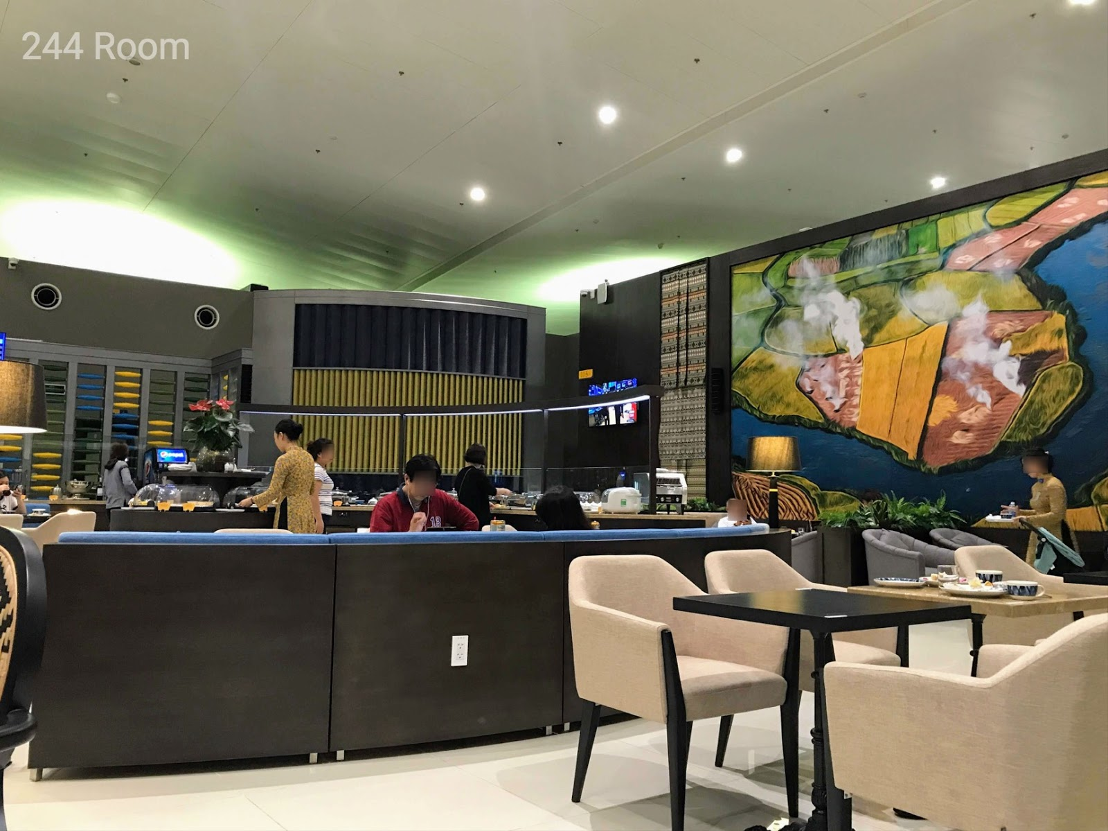 Song hong business lounge interior
