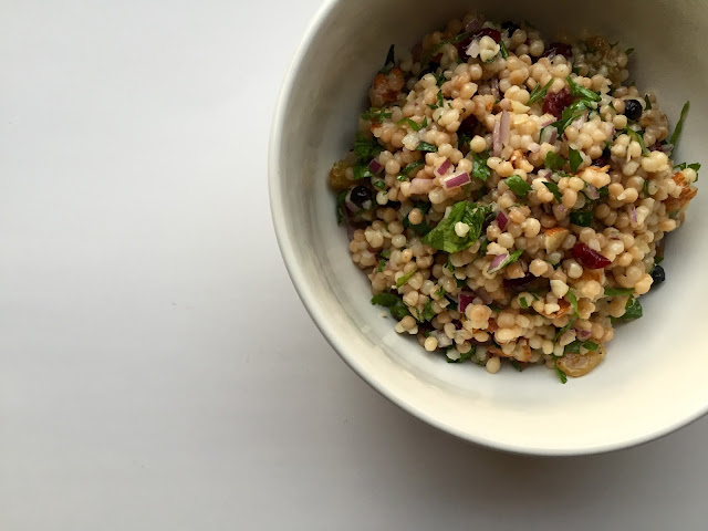 Eating Fabulously, Christopher Stewart, couscous salad, couscous recipe,