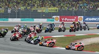 MotoGP Malaysia: Jadwal Balapan Minggu 29 Oktober 2017