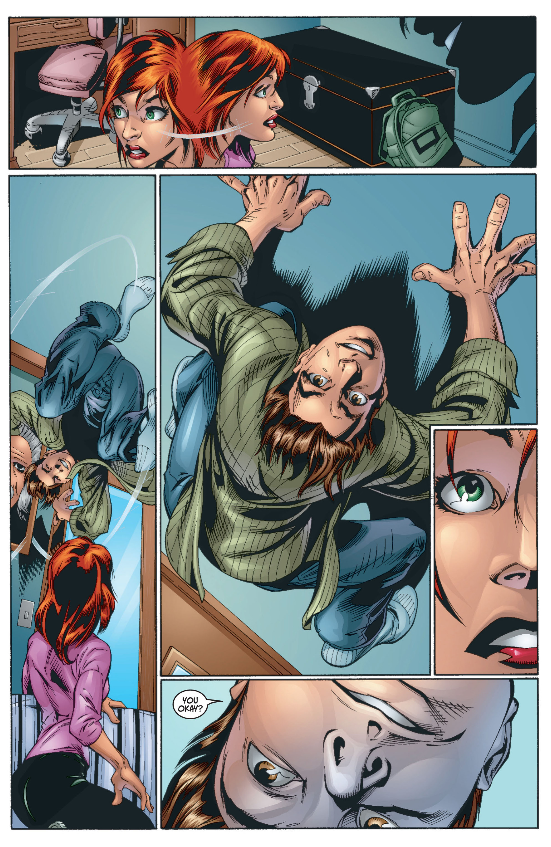 Read online Ultimate Spider-Man (2000) comic -  Issue #13 - 9
