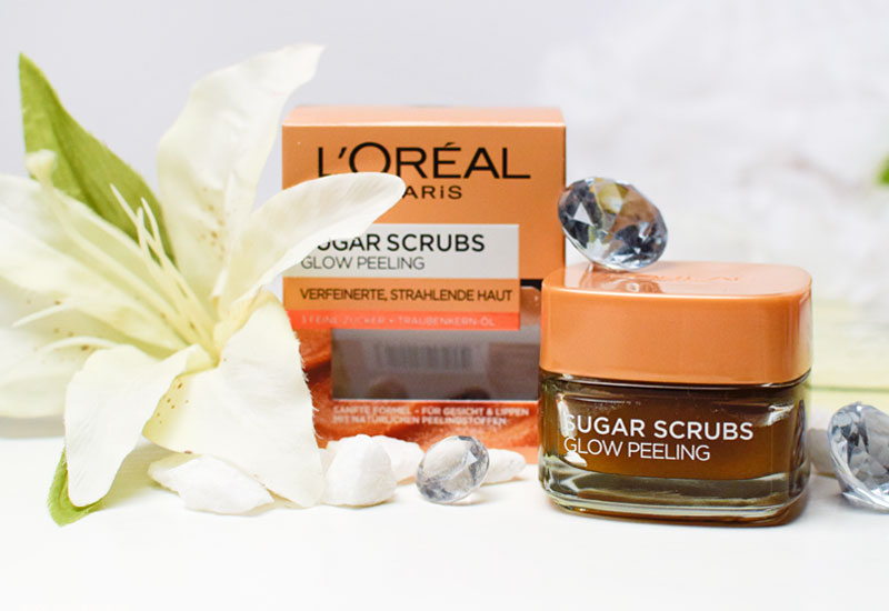L'Oréal Paris Sugar Scrubs Glow Peeling, Test
