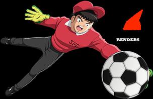 Render Wakabayashi Genzo Super Campeones