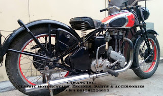 FOR SALE!!! ARIEL NH 350cc 1948