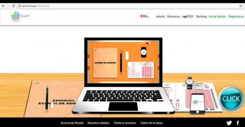 UNPRG: Lanzan herramienta virtual para medir tus conocimientos para el ingreso a la Universidad Nacional Pedro Ruiz Gallo de Lambayeque - www.kachimbo.pe