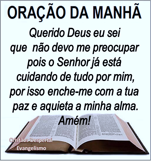 Extremamente Oração da Manhã no Brasil | Brasil Gospel 24 Horas WF39