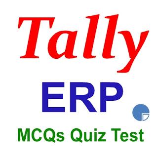 Tally ERP 9 MCQ Quiz - Manoj Gurukul Academy