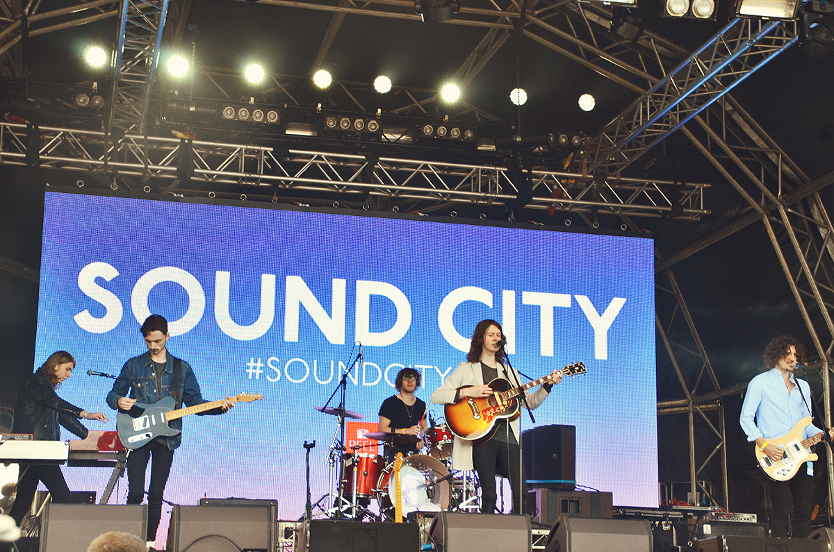 Blossoms North West Band Liverpool Sound City 2015