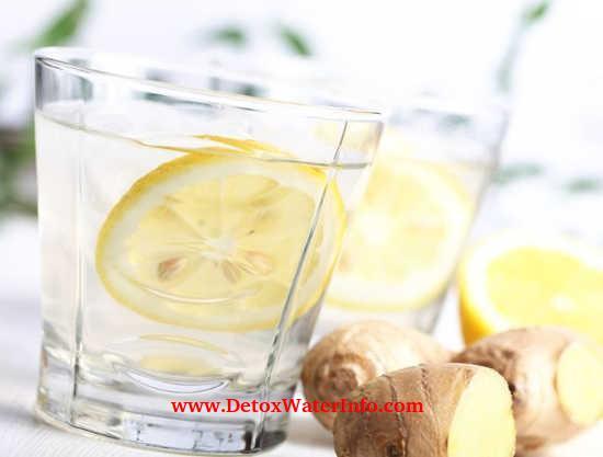 Infused Ginger lemon water