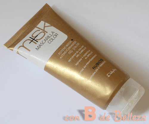 Mascarilla pelo rubio Blond hair mask