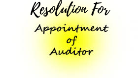 Resolution-Appointment-Statutory-Auditor