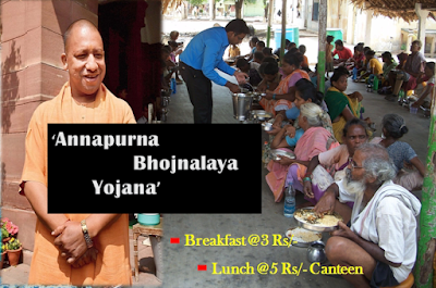 UP Annapurna Bhojnalaya Yojana