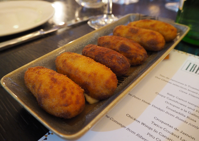 iberica Manchester new spring menu croquettes