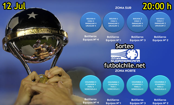 VER STREAM YOUTUBE RESULTADO EN VIVO, ONLINE: Sorteo Copa Sudamericana 2016