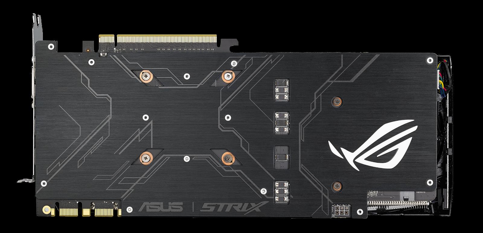 ASUS Unveiled Its ROG-STRIX GeForce GTX 1070 Ti 6