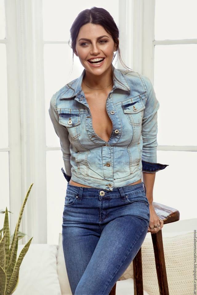 Moda mujer verano 2017 ropa Peuque Jeans.