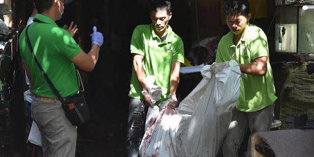 aksi sadis dan brutal terhadap kejahatan narkoba di filipina