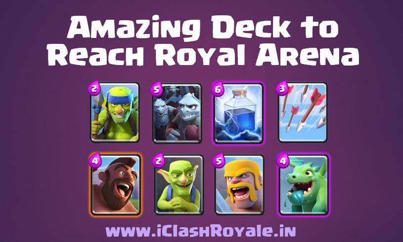 cheap clash royale battle deck