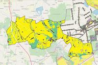 Gmina Głowno mapa geodezyjna z Plane zagospodarowania przestrzennego