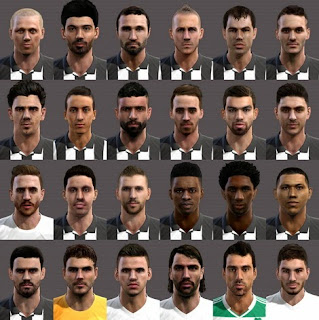Mega facepack Paok More extra faces pes 2013