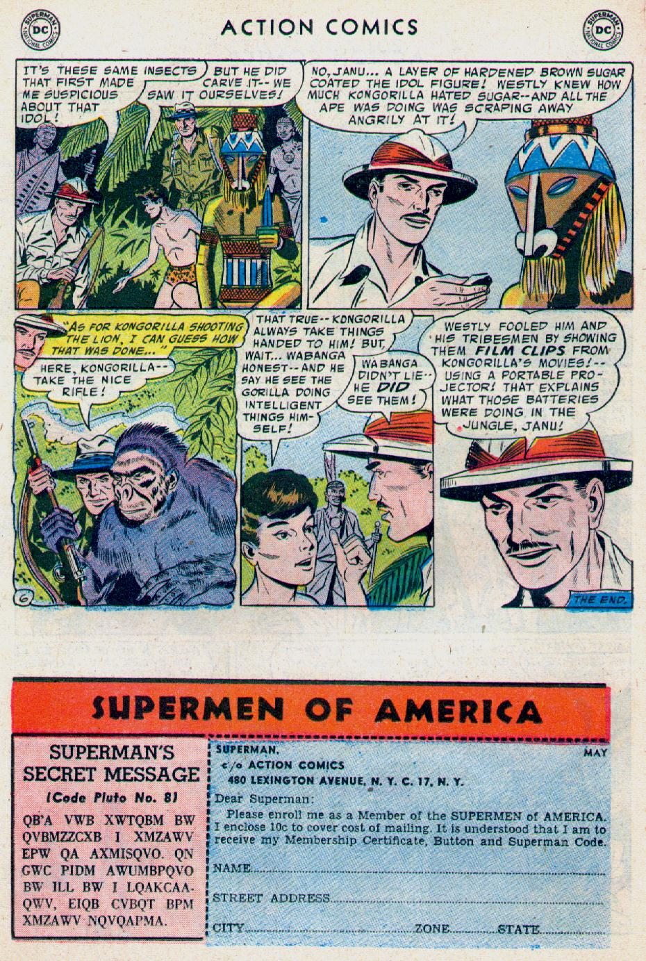 Read online Action Comics (1938) comic -  Issue #228 - 22
