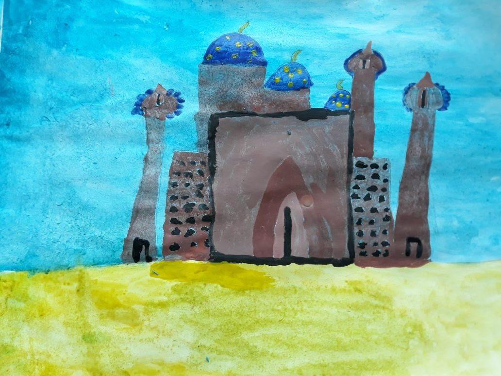 Рисунок городов в пустыне, про алгебру