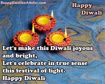 Diwali Status for Deepawali Festival
